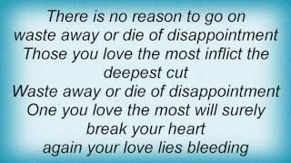 Basia - Love Lies Bleeding Lyrics