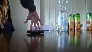 Rehearsing for the Sony Ericsson Xperia X10 mini TV ad