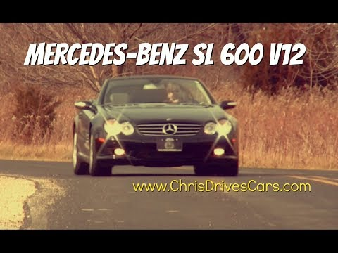 "Mercedes-Benz SL 600 V12 - ""Chris Drives Cars"" Video Test Drive"