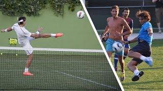 Awesome Rafael Nadal Football Skills!