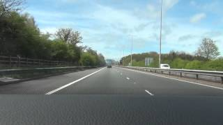 preview picture of video 'M53 - Mid Wirral Motorway - Time Lapse'