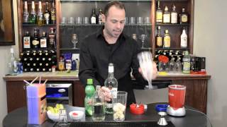 Frozen Banana Daiquiri Recipe Tutorial | Party Bullet