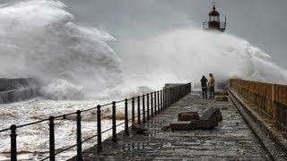 Storm In The Ocean | Big Storm Waves | Most Dangerous Storm In The Atlantic Ocean, Океан и Буря!