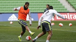 Real Madrid Amazing Skills And Tricks In Trainnig (Part 1) HD