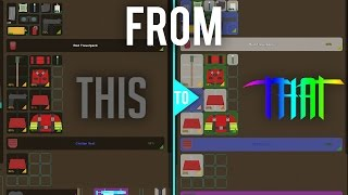 """HOW TO GET A MORE """"COLORFUL"""" INVENTORY (GOLD ONLY) • Unturned Tips and Tricks"""