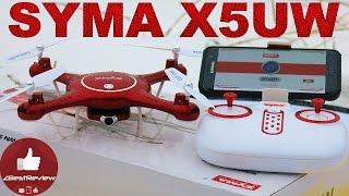 ✔ Обзор Квадрокоптера Syma X5UW с WiFi + FPV. Tomtop.com