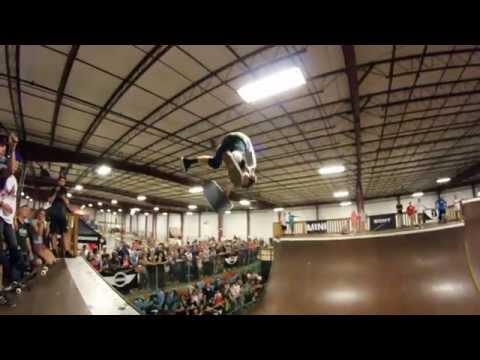 Tony Hawk & the Birdhouse Team Demo @ Ollie's Skatepark 8/11/2014