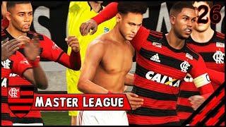 O NEYMAR DECIDIU 2 CLÁSSICOS!!! - Master League Brasileirão #26 [PES 2018 - PC]