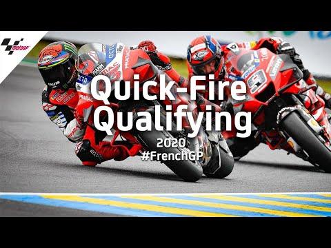 MotoGP フランスGP ファビオがポールポジションを獲得した予選の様子を3分にまとめた予選ハイライト動画