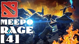 Dota 2 Meepo Rage #4 - И снова мид, и снова Пудж, и снова микроконтроль (゚▽゚)/