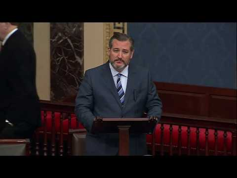 Sen. Cruz on the Senate Floor Defends the Right to Life for Unborn & Newborn Babies