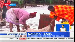 Traders in Narok town counting losses estimated at over 6M after floods sweep business premises