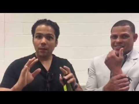 Ellio Rojas on fighting Mikey garcia