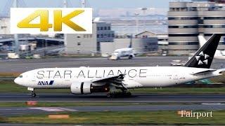 [4k Plane Spotting] [羽田空港] Panasonic LUMIX DC-GH5 At Tokyo Haneda Airport [HND/RJTT]
