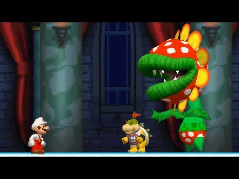 New Super Mario Bros DS Walkthrough - Part 5 - World 5