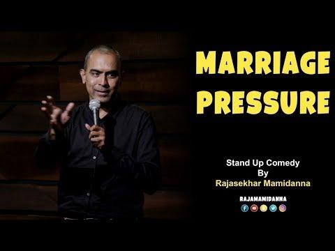 Marriage Pressure | Stand Up Comedy| Rajasekhar Mamidanna