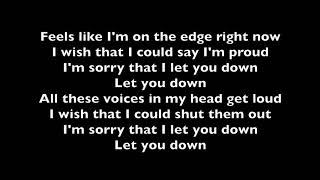 Let You Down  NF  Lyrics