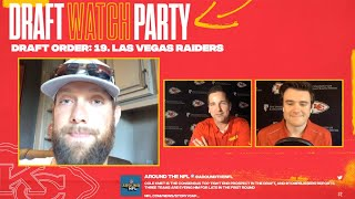 NFL Draft Day 1 Preview  | Chiefs Watch Party