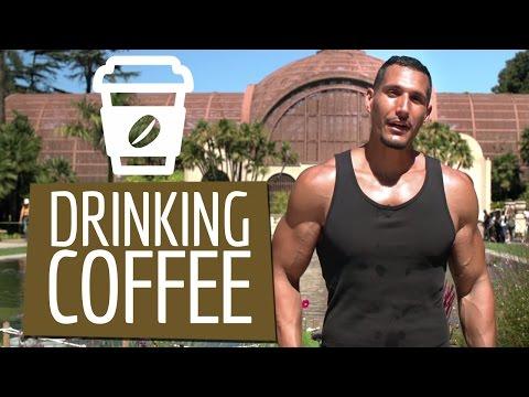 Drinking Coffee &