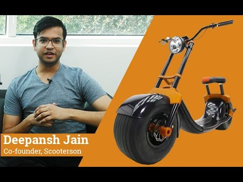 This serial entrepreneur plans to bring AI-powered electric scooter to India