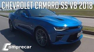 Avaliação: Chevrolet Camaro SS V8 2018
