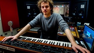 Ricky Damian Talks At Mark Ronson's Studio About Recording Uptown Funk With George Shilling