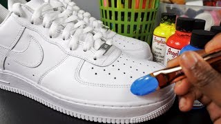How To Customize Shoes! 🎨👟(SIMPLE) | Xavier Kickz