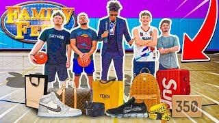 2HYPE NBA 2v2 Basketball FAMILY FEUD! *I'll Buy You Anything*