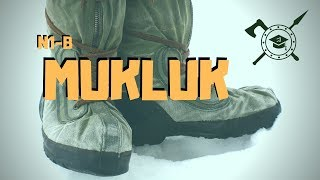SURPLUS US AIR FORCE MUKLUK / PERFECT WINTER BOOT FOR BUSHCRAFT AND SURVIVAL / WITH A  FEW TWEEKS