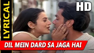 Dil Mein Dard Sa Jaga Hai With Lyrics | Udit   - YouTube