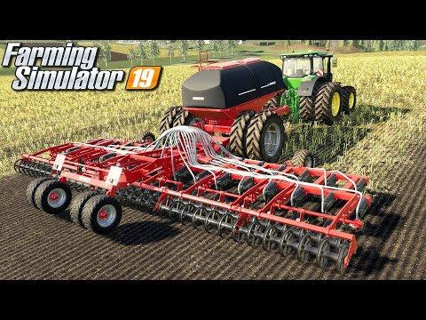 Siew i kupno dużego pola - Farming Simulator 19 | #69