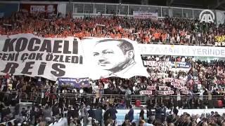 Cumhurbaşkanı Erdoğan: 998 gün sonra 'nerede kalmıştık' diyerek bir aradayız