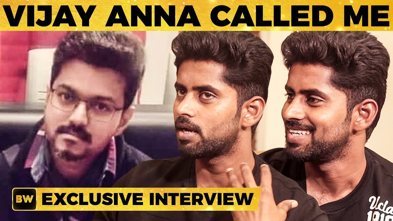 Thalapathy 63 Actor Kathirs Unexpected Moment with Vijay | MY 425
