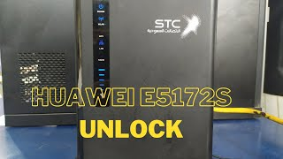 How to unlock huawei e5172s 927 4g router