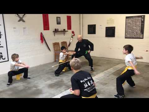 Kids Kung Fu – Circuittraining (video) #wingchunpai