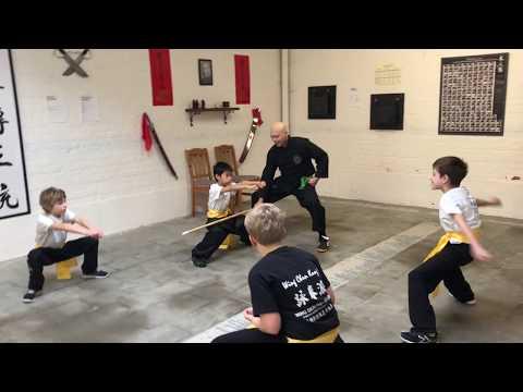 Kids Kung Fu - Circuittraining (video) #wingchunpai