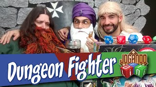 Dungeon Fighter - Board Game Review por Jogando Offline (s02e14)