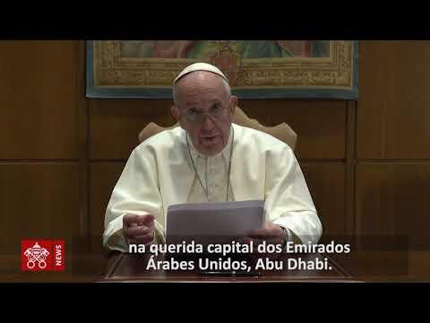 Papa: um futuro livre do ódio, do extremismo e do terrorismo