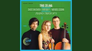 Piano Trio No. 1, Op. 32: I. Allegro moderato