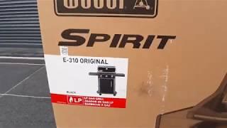Aufbau Montage WEBER Spirit Original E-310 – Gasgrill