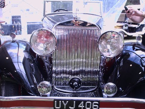 1934 Hispano Suiza J12 Cabriolet MaroonBlk AmeliaIsland 031415
