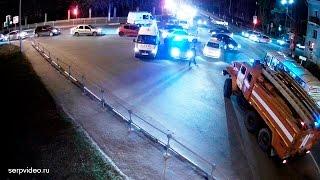 """ДТП в Серпухове. Ночная трагедия """"на красный""""... 30 апреля 2017г."""