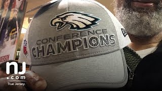 Eagles gear flies off store shelves