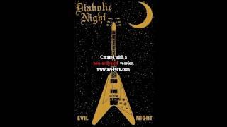 Diabolic Night (Germany) - Evil Night (Demo) 2014.avi