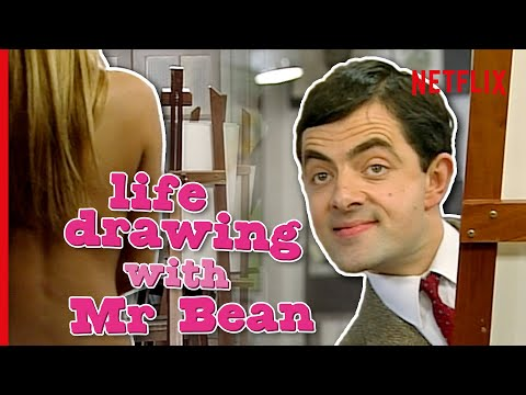 Mr Bean Goes To A Life Drawing Class… | Netflix