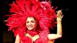preview picture of video 'COSTA DE PRATA - Carnaval Limoux 2015 Palco - Soir Scène - École de Samba Ovar, Portugal en France'