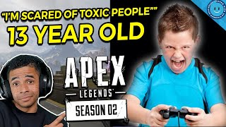 Apex Legends Grouped Me With A Random Kid Who Had Never Won...Then He Did THIS! (Gameplay)