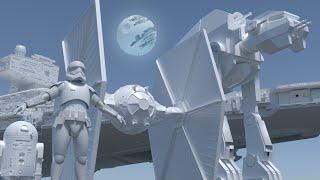 Star Wars Size Comparison 3D
