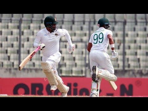 ঢাকা টেস্টে জিম্বাবুয়ের বিপক্ষে সুবিধাজনক অবস্থানে বাংলাদেশ