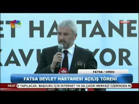 18 03 2016 FATSA DEVLET HASTANESİ AÇILIŞ TÖRENİ